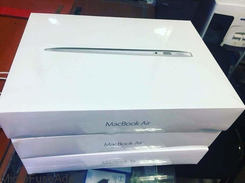 macbook air 13 i5 8gb 128ssd 2017 lacrado mqd32ll p. entrega