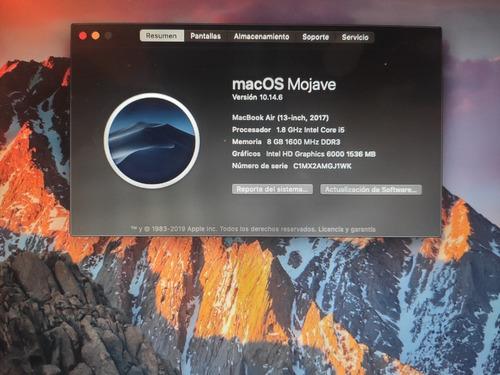 macbook air (13-pulgadas 2017)