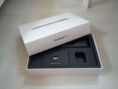 macbook air 13.3  core i5 1,6gz ram 8gb 128gb flash pcle