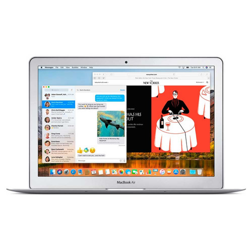 macbook air 13.3  core i5 ram 8gb mqd42le-a