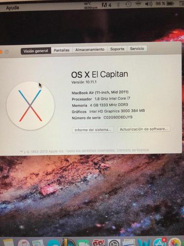 macbook air mid2011 i7 (600$)