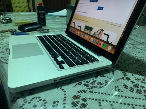 macbook pro 13 modelo mid 2012 8 gb ram ssd 512 gb