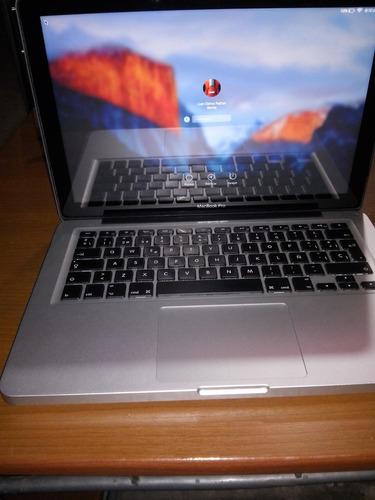 macbook pro 13.3 core i5 4 gb ram 500 gb dd incluye mochila!