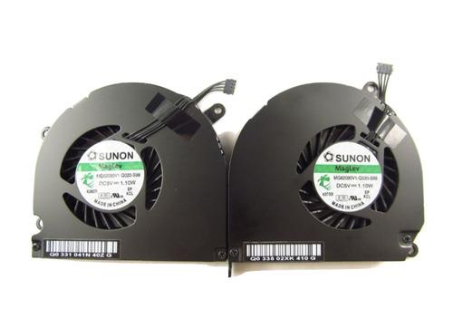 macbook pro 15 a1286 izquierda + ventilador 2009 2010 2011