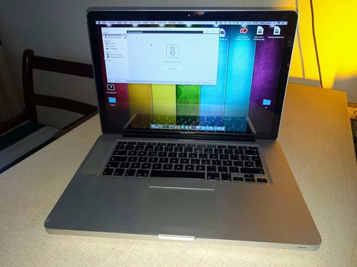 macbook pro 15 /i7/8ram/1tb con caja!