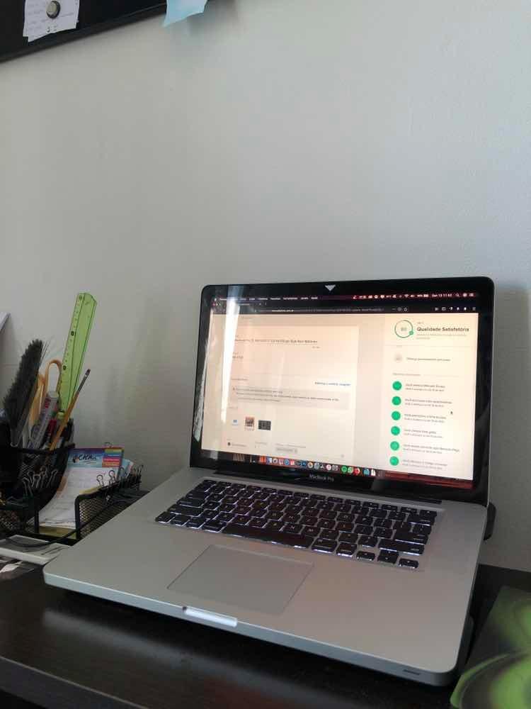 Macbook Pro 15 Mid 2012 I7 2,3 Hd 500gb 16gb Ram 1600mhz