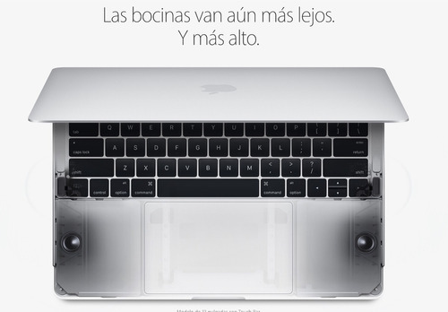 macbook pro 2016 touch bar y touch id i5 de 2.9 ghz 512 gb