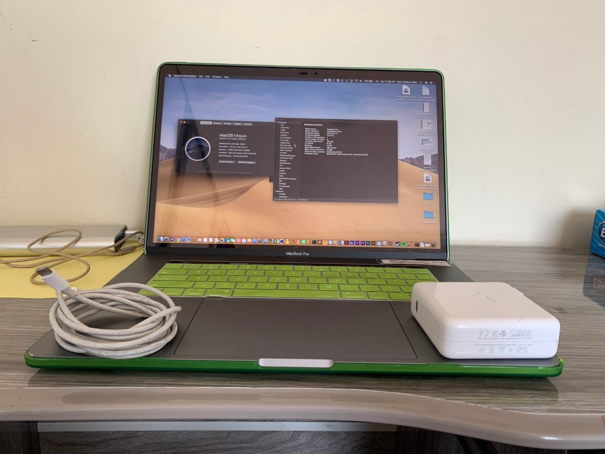 Macbook Pro 2018 I7 2 9ghz 512gb Ssd 4gb Vid 16gb Ram