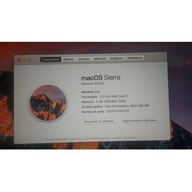 Macbook Pro A1278 I5