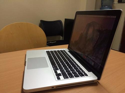 macbook pro i7 2,70 ghz + 8 gb ram + 500 hdd, tope de gama.