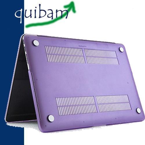 macbook pro retina 13 carcasa protector case lila mate