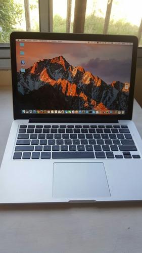 macbook pro retina 13/4gb/i5/128-2014. excelente.