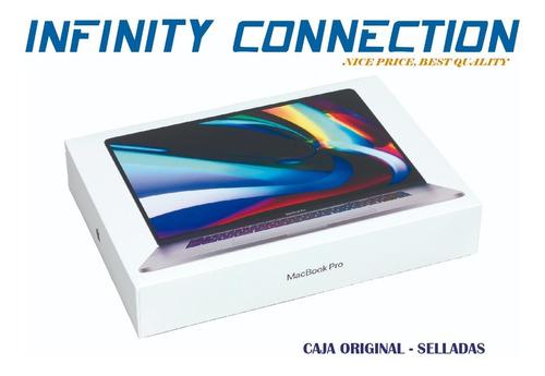 macbook pro touch bar 16 intel i9 1tb ssd 16 ram disponibles