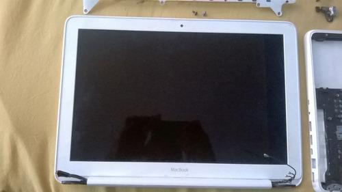 macbook unibody white mid 2010 a-1342 repuestos