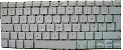 macbook white 13 a1181 a1314 - tecla avulsa + presilha - f6