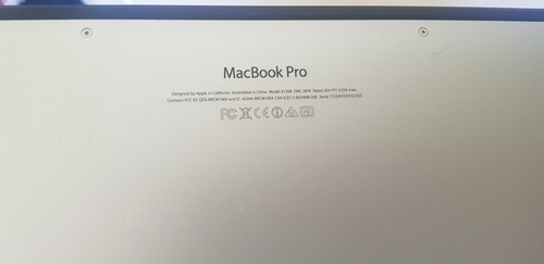 macbookpro 15  mid 2014 i7 16gb ram + disco thunderbolt 1tb
