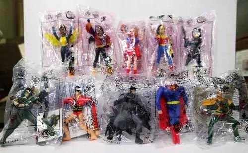 macdonals liga de la justicia y super hero girls coleccion