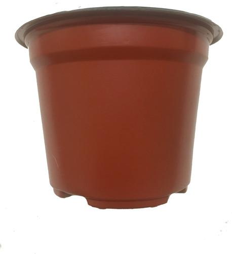 maceta 5 pulgadas polipropileno terra soplada 500 maceteros