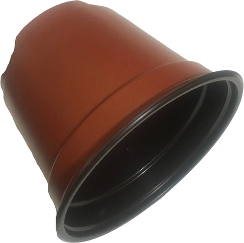 maceta 6 pulgadas flexible terracota 100 maceteros