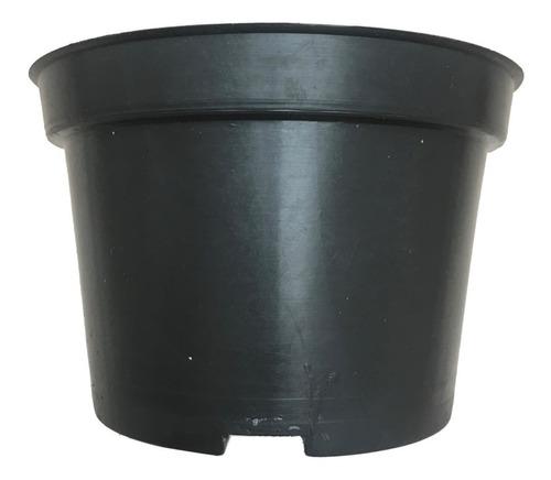maceta 6 pulgadas negra rígida 100 maceteros