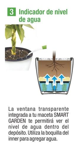 maceta autorregable aq1817 smart garden