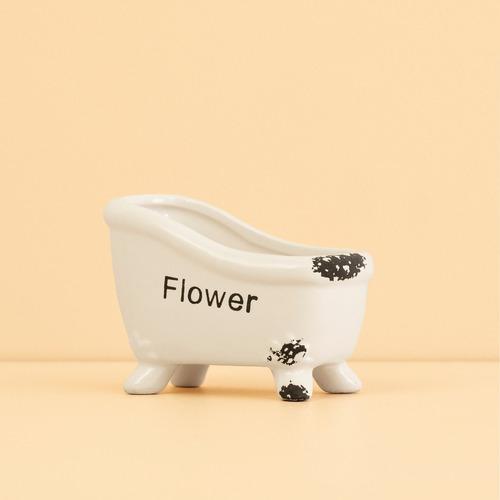 maceta bañera