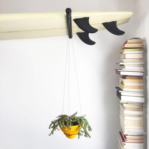 maceta colgante de techo - altura ajustable