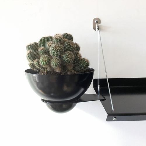 maceta con soporte para estante colgante con rayos