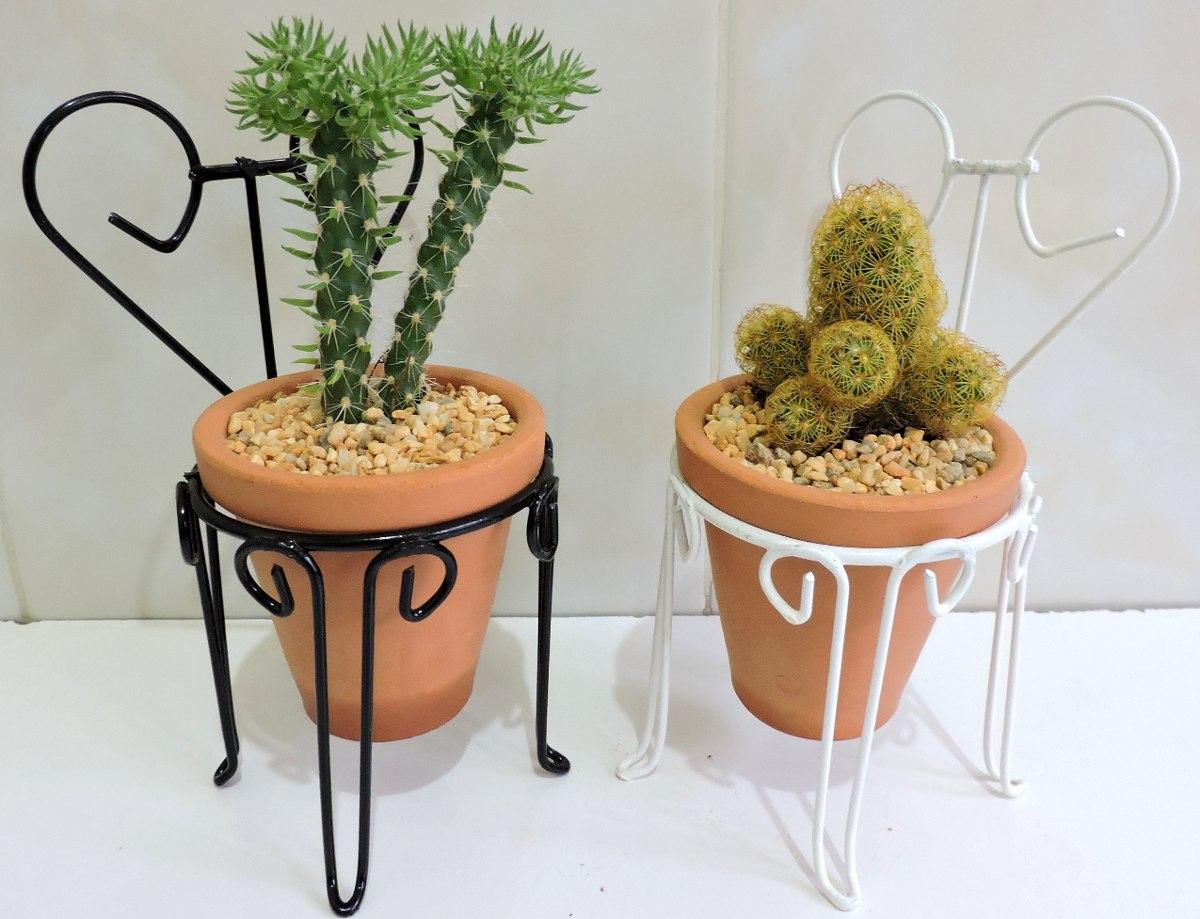 Maceta de barro en triciclo de metal y plantas atractivas for Adornos para la sala de casa