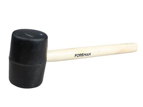 maceta de goma cabo de madera foreman 450g 12021/fo