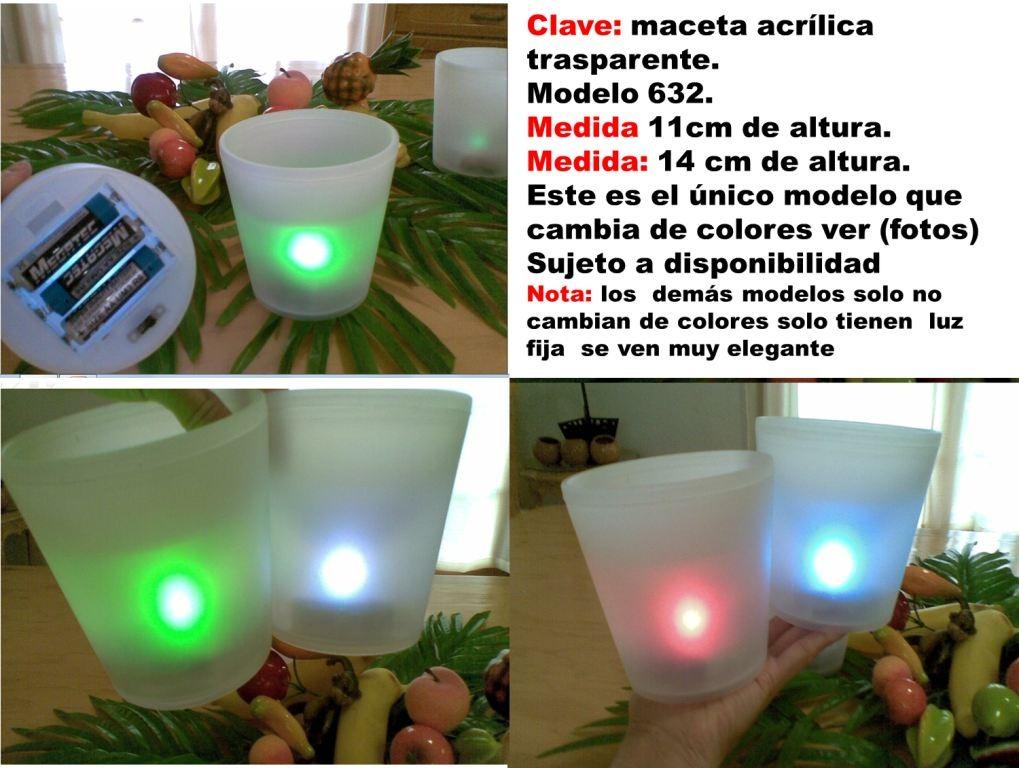 Maceta de luz plastico en mercado libre - Macetas con luz baratas ...