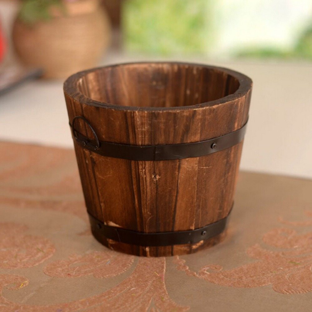 Maceta de madera en mercado libre - Maceta de madera ...