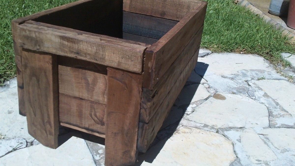 Maceta de madera para huerta 624 39 en mercado libre - Maceta de madera ...