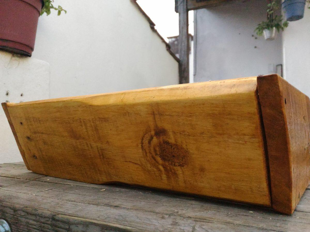 Maceteros madera exterior awesome renovarte con palets - Macetas de madera para exterior ...