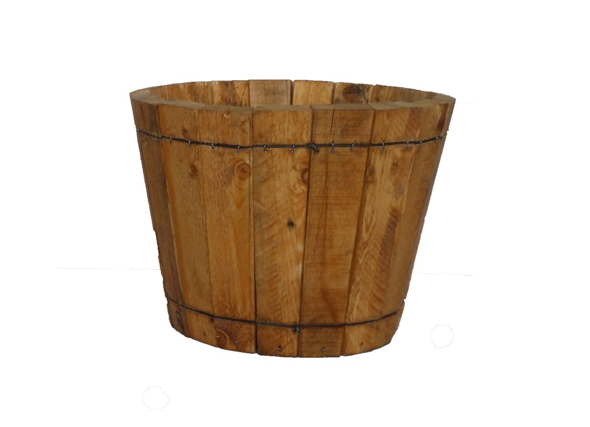 Macetas madera exterior ideas de disenos for Macetas madera exterior