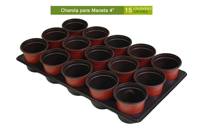 Maceta de plastico para invernadero vivero flexible 6 for Todo para viveros