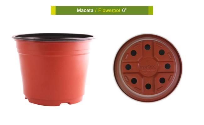 Maceta de plastico para invernadero vivero flexible 6 - Macetas de plastico ...