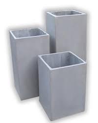 maceta fibrocemento prisma 100x20x20  rectangulo cubo
