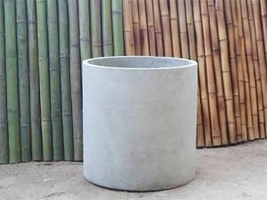 maceta fibrocemento vaso cilindro 52x52