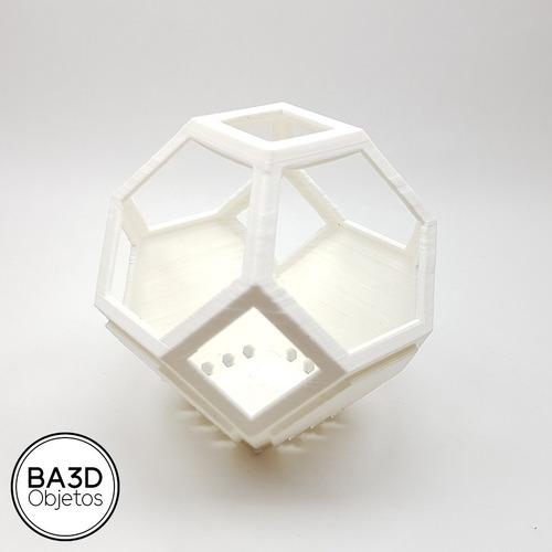 maceta geometrica apilable ideal suculenta diseño deco