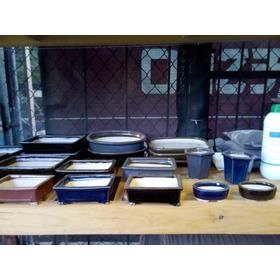 Maceta Para Bonsai De Ceramica A Alta Temperatura