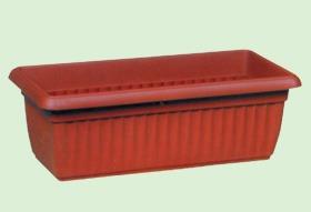 maceta plastico jardinera denise rectangular matri 45x16x13