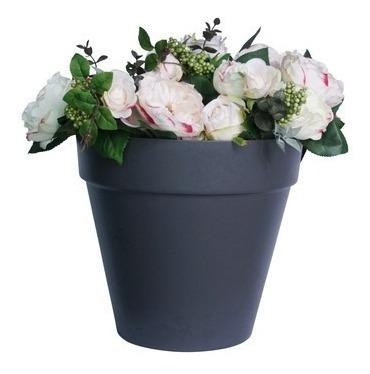maceta redonda interior/ exterior decoración plantas /flores