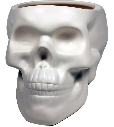 maceta skull blanco