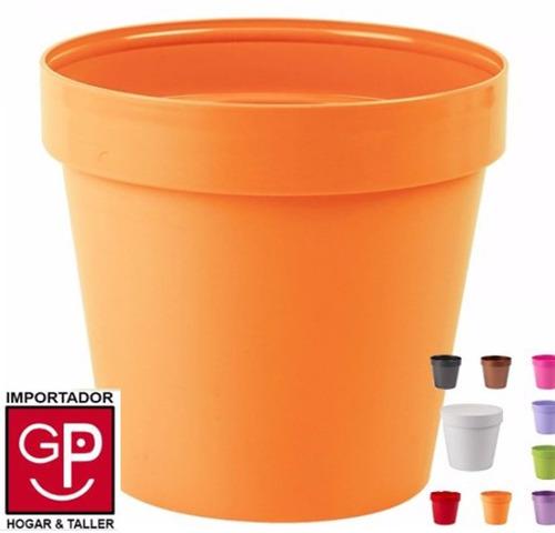 macetas 18cm italy colores varios classic idel g p