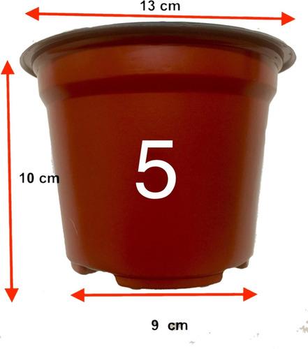 macetas 5 pulgadas terracota flexible 200 maceteros trc 1310