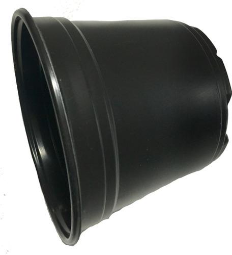 macetas  6 pulgadas 1000 pzs polipropileno macetero negro