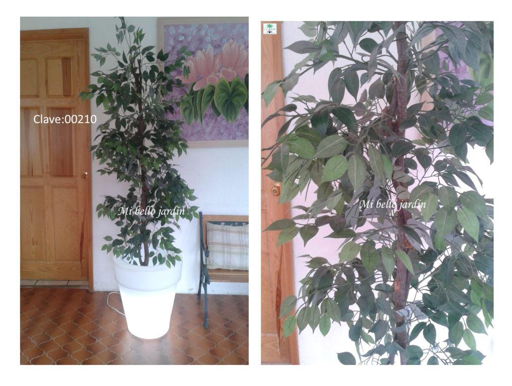 Macetas Con Plantas Artificiales 4 En Mercado Libre