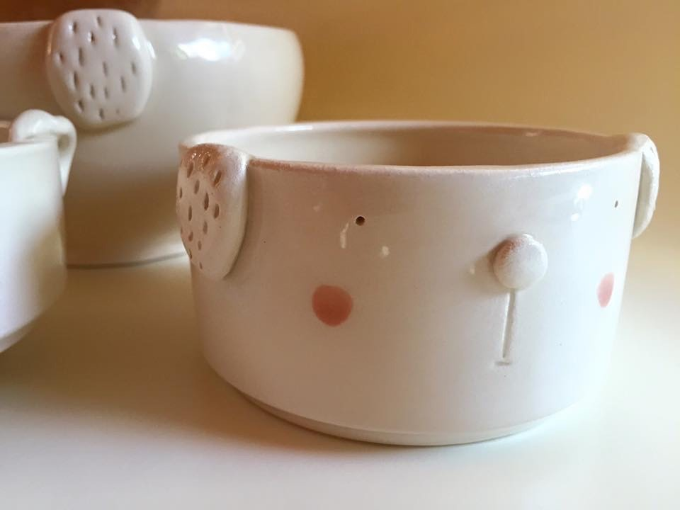 macetas de cerámica para cactus y suculentas! animales. - $ 190,00