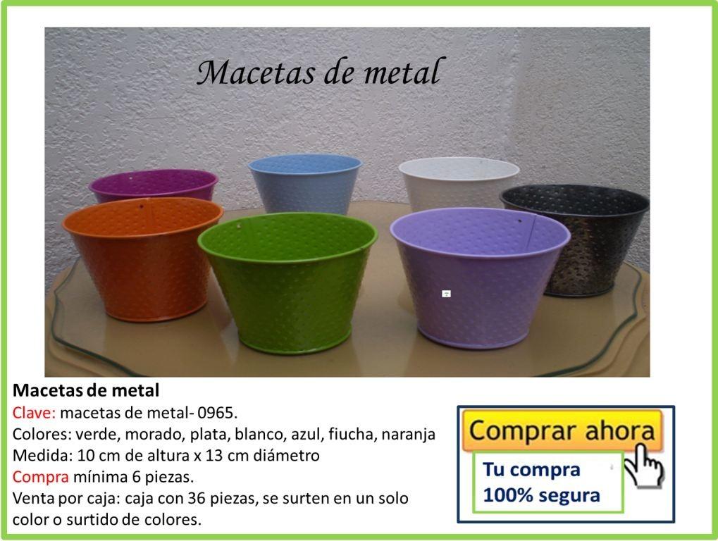 Macetas de colores vmj en mercado libre - Macetas de colores ...